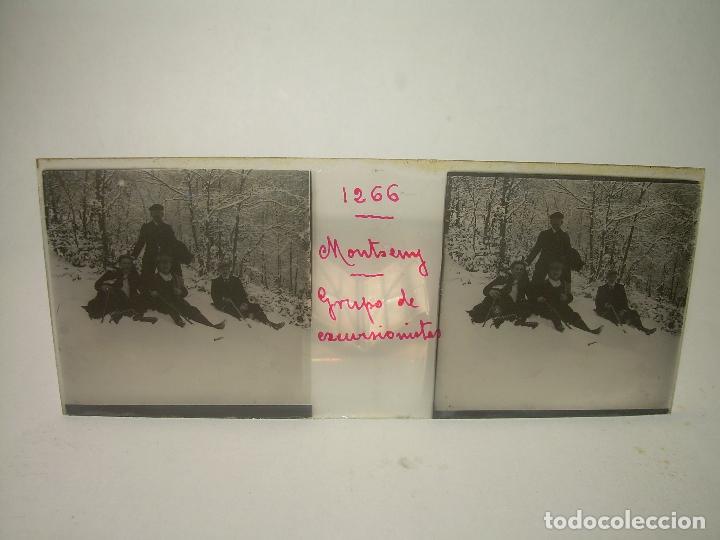 Fotografía antigua: CAJETIN 25 CRISTALES ESTEREOSCOPICOS.....MONTSENY......CIRCA.1.900 - Foto 21 - 92769865