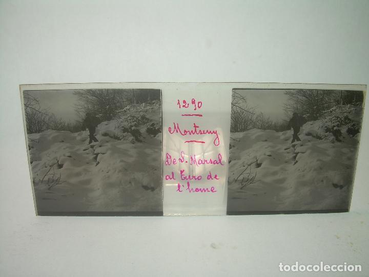 Fotografía antigua: CAJETIN 25 CRISTALES ESTEREOSCOPICOS.....MONTSENY......CIRCA.1.900 - Foto 23 - 92769865