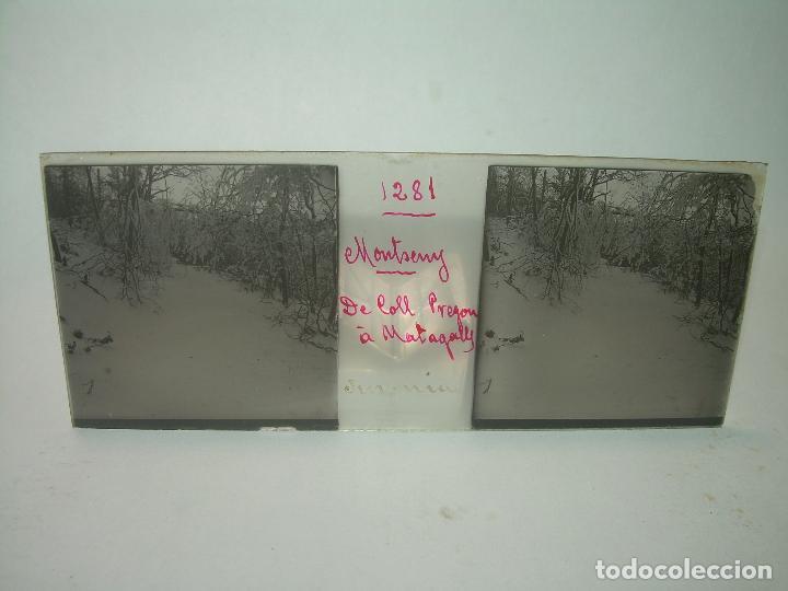 Fotografía antigua: CAJETIN 25 CRISTALES ESTEREOSCOPICOS.....MONTSENY......CIRCA.1.900 - Foto 28 - 92769865