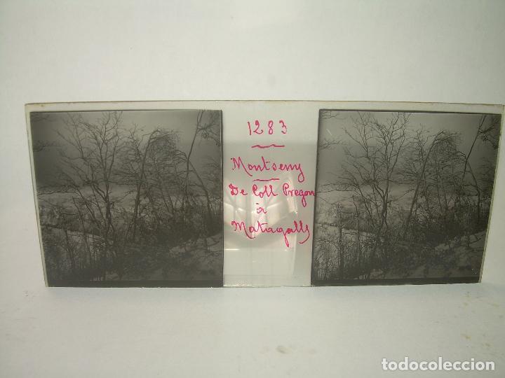 Fotografía antigua: CAJETIN 25 CRISTALES ESTEREOSCOPICOS.....MONTSENY......CIRCA.1.900 - Foto 32 - 92769865