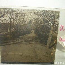 Fotografía antigua: CRISTAL ESTEREOSCOPICO..........BARCELONA...EL LABERINTO......CIRCA. 1.900. Lote 93133615