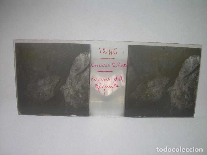 Fotografía antigua: DIECINUEVE CRISTALES ESTEREOSCOPICOS.....CUEVAS DE COLLBATÓ.....CIRCA..1.900 - Foto 5 - 93849970