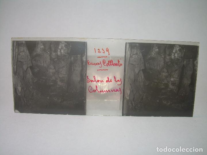 Fotografía antigua: DIECINUEVE CRISTALES ESTEREOSCOPICOS.....CUEVAS DE COLLBATÓ.....CIRCA..1.900 - Foto 6 - 93849970