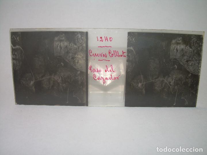 Fotografía antigua: DIECINUEVE CRISTALES ESTEREOSCOPICOS.....CUEVAS DE COLLBATÓ.....CIRCA..1.900 - Foto 11 - 93849970