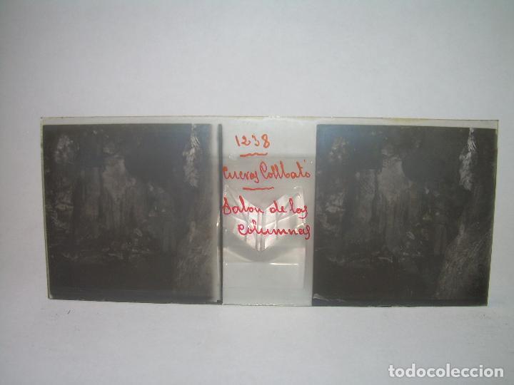 Fotografía antigua: DIECINUEVE CRISTALES ESTEREOSCOPICOS.....CUEVAS DE COLLBATÓ.....CIRCA..1.900 - Foto 13 - 93849970