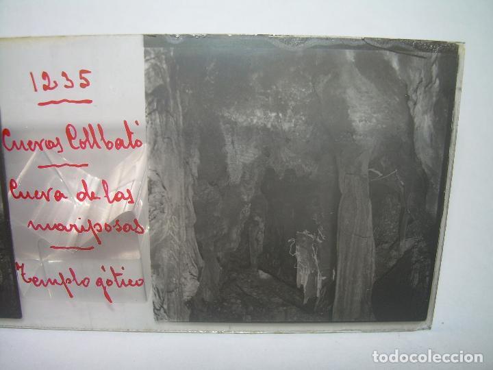 Fotografía antigua: DIECINUEVE CRISTALES ESTEREOSCOPICOS.....CUEVAS DE COLLBATÓ.....CIRCA..1.900 - Foto 16 - 93849970