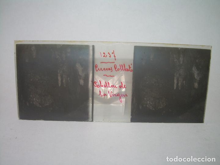 Fotografía antigua: DIECINUEVE CRISTALES ESTEREOSCOPICOS.....CUEVAS DE COLLBATÓ.....CIRCA..1.900 - Foto 18 - 93849970