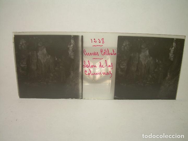 Fotografía antigua: DIECINUEVE CRISTALES ESTEREOSCOPICOS.....CUEVAS DE COLLBATÓ.....CIRCA..1.900 - Foto 21 - 93849970