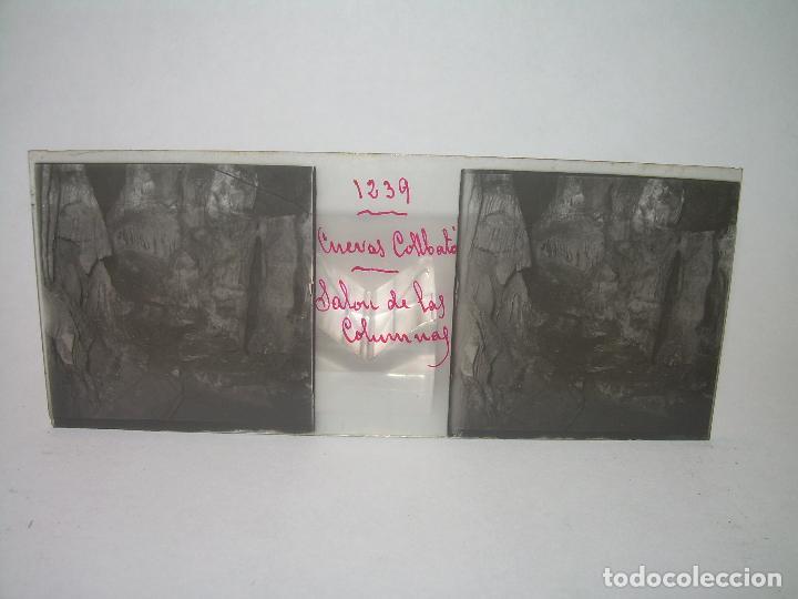 Fotografía antigua: DIECINUEVE CRISTALES ESTEREOSCOPICOS.....CUEVAS DE COLLBATÓ.....CIRCA..1.900 - Foto 22 - 93849970