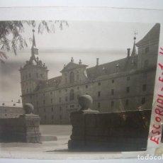 Fotografía antigua: TRES CRISTALES ESTEREOSCOPICOS......EL ESCORIAL....CIRCA. 1.900. Lote 94490386