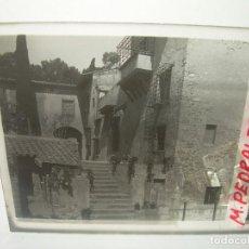 Fotografía antigua: DOCE CRISTALES ESTEREOSCOPICOS......BARCELONA...MONASTERIO DE PEDRALBES....CIRCA. 1.900. Lote 94490614