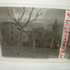 Fotografía antigua: SIETE CRISTALES ESTEREOSCOPICOS......MONASTERIO SAN CUGAT....CIRCA. 1.900. Lote 94491218