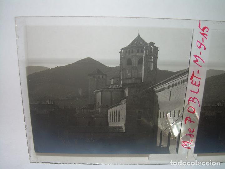 Fotografía antigua: CINCO CRISTALES ESTEREOSCOPICOS......MONASTERIO POBLET....CIRCA. 1.900 - Foto 5 - 94491542