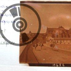 Fotografía antigua: CÓRDOBA - CRISTAL ESTEREOSCÓPICO - PUENTE ROMANO Y CATEDRAL - FOTOGRAFÍA ÚNICA - PRINCIPIOS SIGLO XX. Lote 94805331