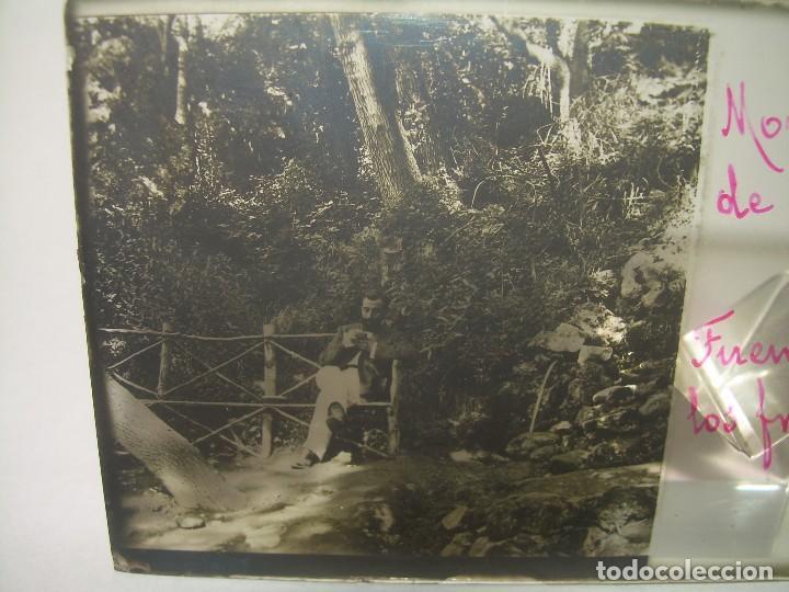 25 CRISTALES ESTEREOSCOPICOS....ZARAGOZA...MONASTERIO DE PIEDRA....CIRCA..1.900 (Fotografía Antigua - Estereoscópicas)