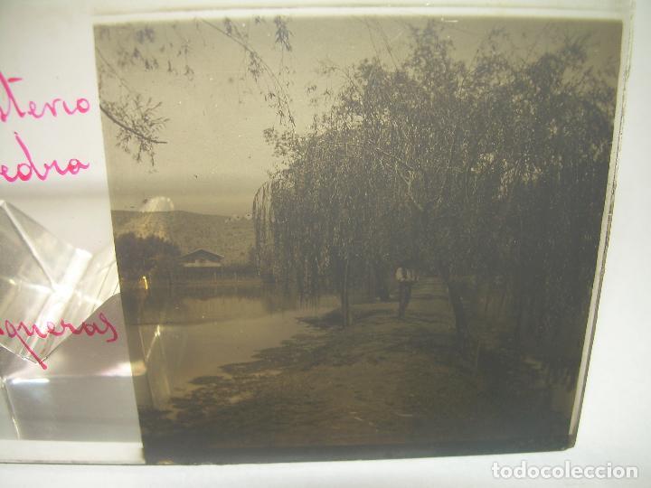 Fotografía antigua: 25 CRISTALES ESTEREOSCOPICOS....ZARAGOZA...MONASTERIO DE PIEDRA....CIRCA..1.900 - Foto 3 - 95302399