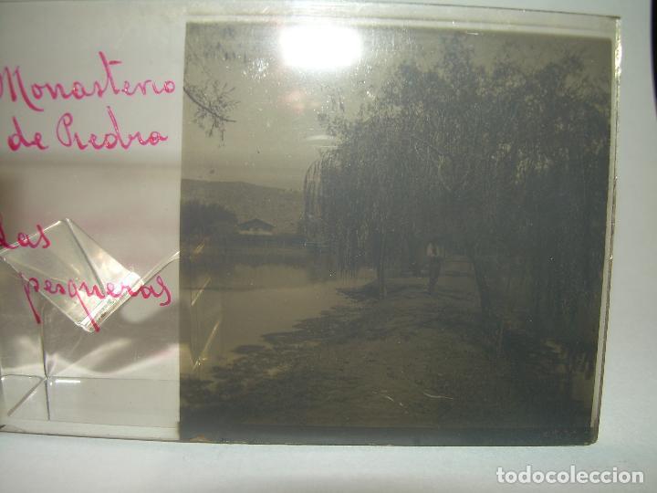 Fotografía antigua: 25 CRISTALES ESTEREOSCOPICOS....ZARAGOZA...MONASTERIO DE PIEDRA....CIRCA..1.900 - Foto 4 - 95302399