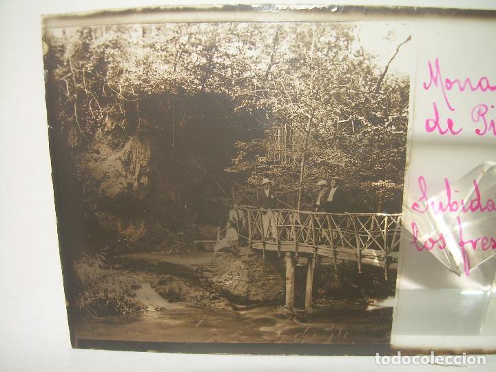 Fotografía antigua: 25 CRISTALES ESTEREOSCOPICOS....ZARAGOZA...MONASTERIO DE PIEDRA....CIRCA..1.900 - Foto 5 - 95302399