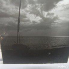 Fotografía antigua: CUATRO CRISTALES ESTEREOSCOPICOS..........CANET DE MAR.......CIRCA. 1.900. Lote 95472011