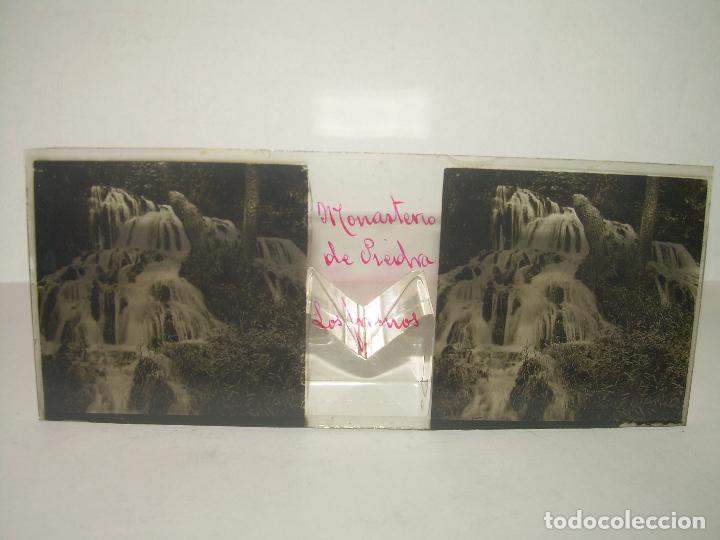 Fotografía antigua: 24 CRISTALES ESTEREOSCOPICOS....ZARAGOZA...MONASTERIO DE PIEDRA...CIRCA..1.900. - Foto 8 - 95596063