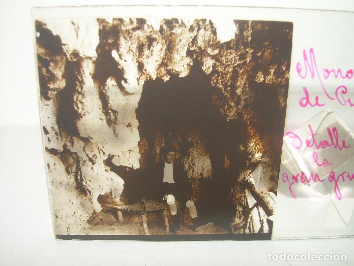Fotografía antigua: 24 CRISTALES ESTEREOSCOPICOS....ZARAGOZA...MONASTERIO DE PIEDRA...CIRCA..1.900. - Foto 10 - 95596063