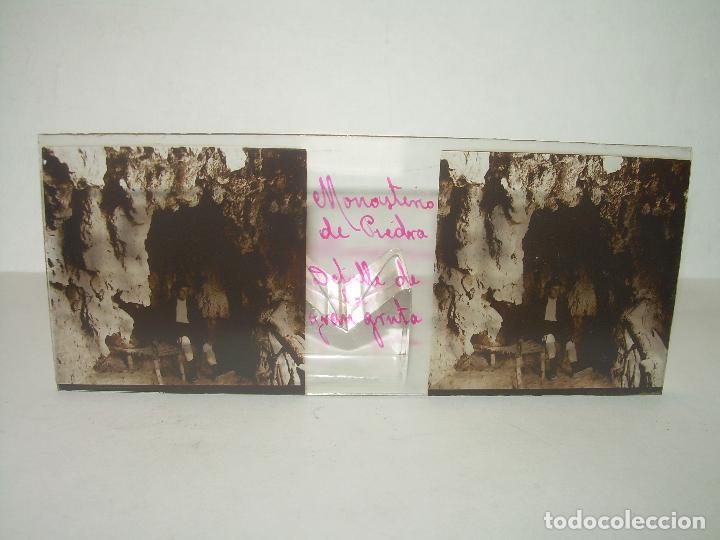 Fotografía antigua: 24 CRISTALES ESTEREOSCOPICOS....ZARAGOZA...MONASTERIO DE PIEDRA...CIRCA..1.900. - Foto 11 - 95596063