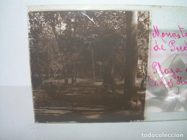 Fotografía antigua: 24 CRISTALES ESTEREOSCOPICOS....ZARAGOZA...MONASTERIO DE PIEDRA...CIRCA..1.900. - Foto 28 - 95596063
