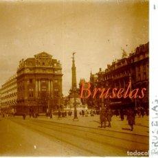 Fotografía antigua: BRUSELAS - 1924 - POSITIVO DE VIDRIO . Lote 97182075