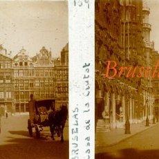 Fotografía antigua: BRUSELAS - 1924 - POSITIVO DE VIDRIO . Lote 97182111
