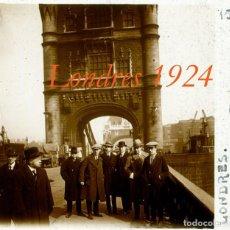 Fotografía antigua: LONDRES - 1924 - POSITIVO DE VIDRIO. Lote 97182399