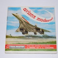 VIEW MASTER VIEWMASTER AVIONES MODERNOS AVIONS MODERNES