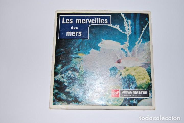 VIEW MASTER VIEWMASTER LES MERVEILLES DES MERS MARAVILLAS DEL MAR (Fotografía Antigua - Estereoscópicas)