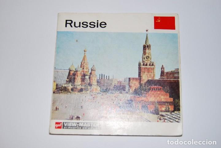 VIEW MASTER VIEWMASTER RUSSIE RUSIA (Fotografía Antigua - Estereoscópicas)