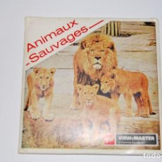 VIEW MASTER VIEWMASTER ANIMAUX SAUVAGES ANIMALES SALVAJES