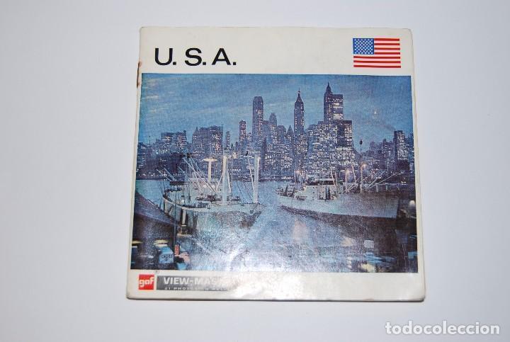 VIEW MASTER VIEWMASTER USA U.S.A (Fotografía Antigua - Estereoscópicas)