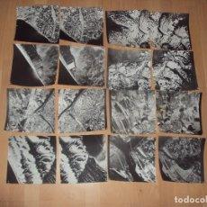 Fotografía antigua: LOTE DE 8 PARES ESTEROSCOPICOS DE FOTOGRAFIAS (16) E INTERPRETACION DE SOGERESA, AEREAS. Lote 97941455