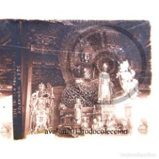 Fotografía antigua: TEMPLO - PAGODA - CRISTAL ESTEREOSCÓPICO - FOTOGRAFÍA ÚNICA - AÑOS 10/20. Lote 98380775