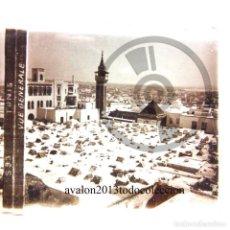 Fotografía antigua: TÚNEZ - VISTA GENERAL - CRISTAL ESTEREOSCÓPICO - FOTOGRAFÍA ÚNICA - AÑOS 10/20. Lote 98380887