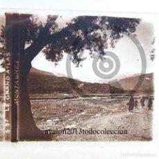 Fotografía antigua: EL GRAN ATLAS - MARRUECOS - CRISTAL ESTEREOSCÓPICO - FOTOGRAFÍA ÚNICA - AÑOS 10/20. Lote 98381279
