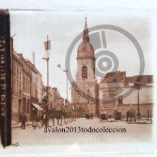 Fotografía antigua: AMIENS - FRANCIA - CRISTAL ESTEREOSCÓPICO - FOTOGRAFÍA ÚNICA - AÑOS 10/20. Lote 98384107