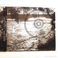 Fotografía antigua: RÁPIDOS CANADIENSES - CANADA - CRISTAL ESTEREOSCÓPICO - FOTOGRAFÍA ÚNICA - AÑOS 10/20. Lote 98384723