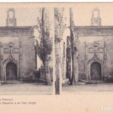 Fotografía antigua: MONASTERIO DE POBLET Nº 4 CAPILLA DEL ROSARIO O DE SAN JORGE ESTEROSCOPIA - EDIC FOTOTIPIA THOMAS . Lote 98472267
