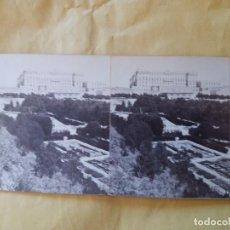 Fotografía antigua: VISTA PALACIO REAL MADRID LAMY 4 MUY BONITA CAMPO DEL MORO. Lote 100050967