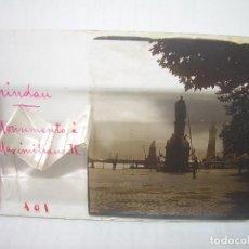Fotografía antigua: DOS CRISTALES ESTEREOSCOPICOS...LINDAU - BEALUIEN...CIRCA..1900. Lote 101562295