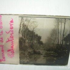 Fotografía antigua: DOS CRISTALES ESTEREOSCOPICOS...PALAUTORDERA...CIRCA..1900. Lote 101562439