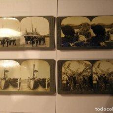 Fotografía antigua: LOTE 10 FOTOGRAFIAS KEYSTONE VIEW COMPANY MILITARES. Lote 102405775