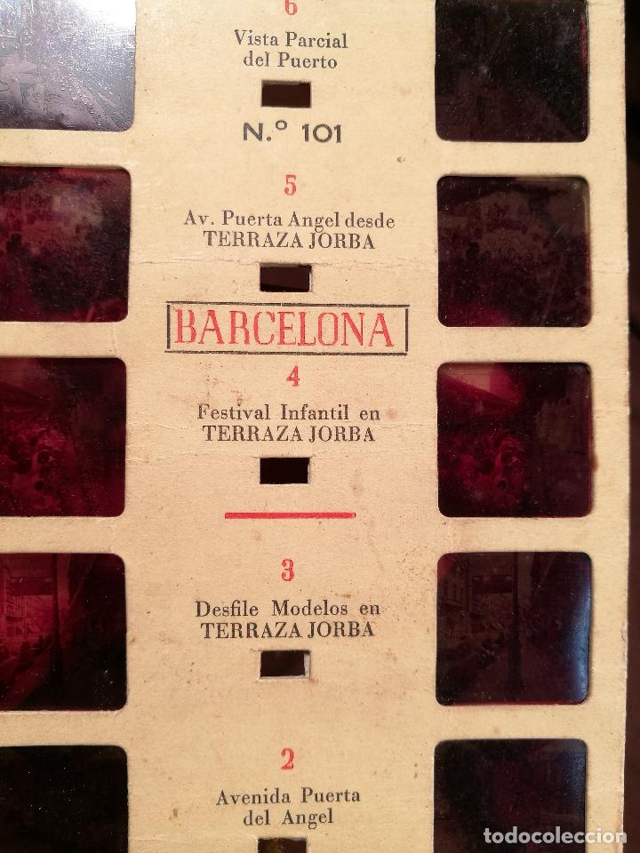 Fotografía antigua: BARCELONA, Nº 101, ESTEREOSCOPICAS DE ESPAÑA -MARTE--JORBA ALMACENES - Foto 5 - 104391547