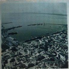 Fotografía antigua: FOTOGRAFÍA ESTEREOSCÓPICA EN CRISTAL - ALICANTE - VISTA GENERAL - FIRMADA J. VIDAL - HACIA 1915. Lote 105103123