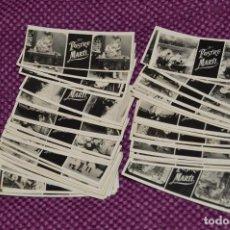 Fotografía antigua: ESTEREÓSCOPO MIGNON - 50 FOTOGRAMAS/FOTOS DE PUBLICIDAD PASTELERÍA POSTRE MARTI - 1900 - RARÍSIMOS. Lote 105939771