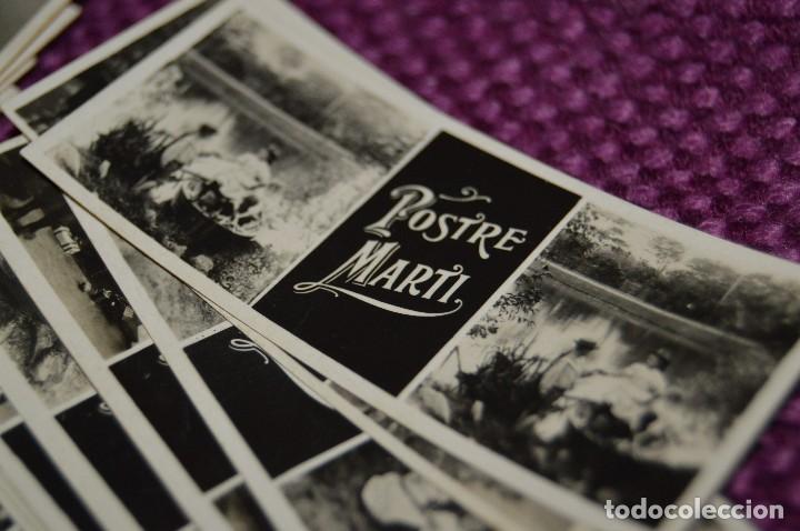 Fotografía antigua: Estereóscopo MIGNON - 50 fotogramas/fotos de PUBLICIDAD PASTELERÍA POSTRE MARTI - 1900 - RARÍSIMOS - Foto 4 - 105939771